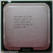 Intel Core 2 Duo E7500 7500  2.93 GHz Dual-Core UNBOXED CPU ONLY WARRANTY SALE!!