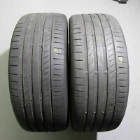 2x Continental ContiSportContact 5 P MO 255/40 R21 102Y DOT 4918 4 mm Sommer