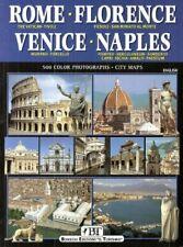 Rome : Florence : Venice : Naples 500 Colour Photographs City Maps : English Edi