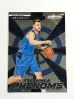 2018-19 Panini Prizm Luka Doncic Rookie Card RC - Freshman Phenoms #23