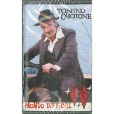 Tonino Carotone MC7 Mondo Difficile / Virgin ‎8 49389 4 Sigillata 0724384938949
