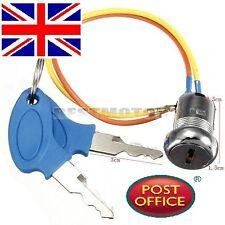 Llave De Encendido Interruptor Cierre Eléctrico 2 Cables 2 Llave Mini Kart ATV