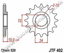 JT steel 17 tooth front sprocket for BMW G650 GS Sertao ABS 12-13 JTF402.17 520