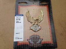 NEW Harley Davidson Eagle Medallion Badge Emblem Dyna Touring softail MADE IN US