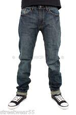Streetwear PREMIUM Ajustado Liso Jeans