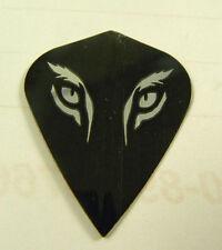 Dart Flights 5 Kite Sets  Silver/Black Tiger's Eyes