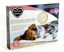 Valentina Valentti Self Heating Pet Snuggle Rug or Bed for Cats & Small Dogs