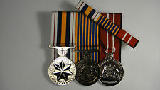 Set of 3 Replica Court Mounted Australian National Police  Defence Medals