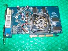 GeForce FX5500 256MB ddr agp vga / dvi / TVO carte graphique