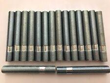 16 X M12X1.25 ALLOY WHEEL STUDS CONVERSION BOLTS 80mm LONG FITS FIAT 2 58.1