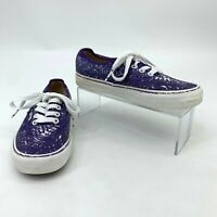 Vans Crayola Sneakers Women's Size 5 Purple Low Top Lace Up Casual Skater Shoes