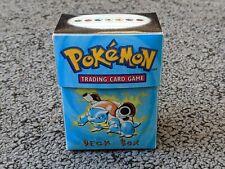 More details for pokemon wotc blastoise deckbox   in good condition