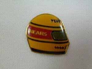 Rick Mears Driver Helmet Collector Lapel Pin Pennzoil Z-7 Penske Racing