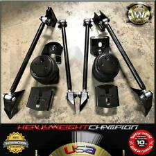 Heavy Duty Triangulated 4 Link Hot Rod Suspension Kit 2600 Air Bags Amp Rear Mount