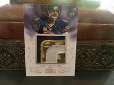 National Treasures Captain Patch Jersey Bears Jay Cutler 2/4  2013