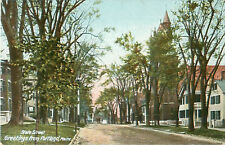 State Street Greetings from Portland Maine Postcard No 320 Made Germany