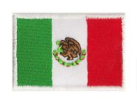 Ecusson patche petit patch thermocollant Mexique Mexico 45x30 mm