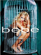 1999 BEBE : JAMES KING    Magazine Print AD (5-pg)