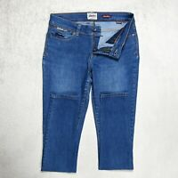 Womens SUPERDRY Super Skinny Jeans Size W28 L32 Stretch denim Slim Mid blue