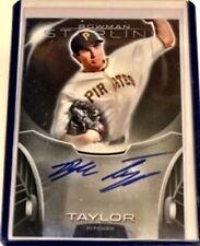 Blake Taylor 2013 Bowman Sterling Prospect Autograph Pirates BSPA-BT