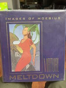 MOEBIUS Art book VIRTUAL MELTDOWN  autograph Limited Edition 573/1500 VF/NM
