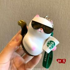 New Starbucks 2020 China Sunglasses Cat Siren Mermaid Vivicat Keychain