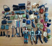 Vintage Hasbro 1980s GI Joe Lot of Action Figures, Backpacks, & Accessories!