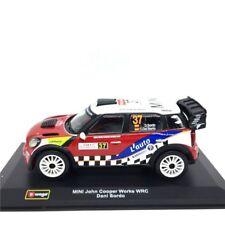 Bburago 1:32 MINI John Cooper Works WRC Dani Sordo Diecast Model Racing Car #37