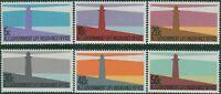 New Zealand Life Insurance 1981 SGL64-L69 Lighthouses set MNH