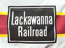 Lackawanna DLW  (Erie) Railroad Company Flag 2'x3' Made in USA