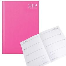 Tallon 2019 A5 tapa dura diario semanal 3483 - Rosa