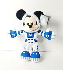 "2020 Disney Parks Space Mountain Blue Astronaut Mickey Mouse 11""  Plush"