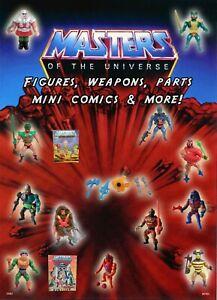 He-Man Masters of the Universe & New Adventures Parts U CHOOSE MOTU