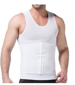 Men Powerful Slim Abdomen Body Shaper Sculpting Compression Girdle Belley Vest
