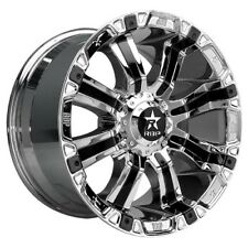 18x9 RBP 94R Chrome W/Black Inserts Wheels 8x180 (0mm) Set of 4