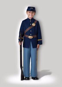 Incharacter Civil War Soldier Union America Child Boys Halloween Costume 17058