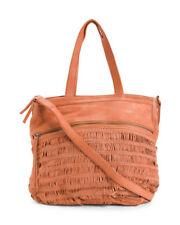 New Day & Mood/Anthropologie ALMA Tote Shoulder Handbag NWT Leather PEACH $348