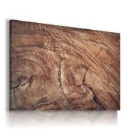 WOODEN PATTERN NATURE MODERN DESIGN CANVAS WALL ART PICTURE LARGE AB870 MATAGA