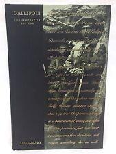 Gallipoli - Military - History - ANZAC - WWI - HC - Commemorative Ed. - Carlyon