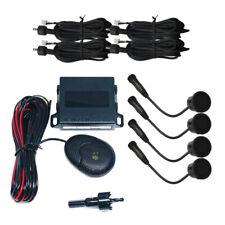 STEELMATE EBAT Matt Black Rear Reversing Parking Sensors 4 Sensor System PTSC1