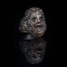 Leatherface Horror Ring, bronze ... texas chainsaw massacre ring