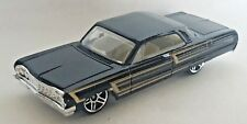 Hot Wheels Muscle Mania 1964 Chevy Impala Black 1:64 Scale