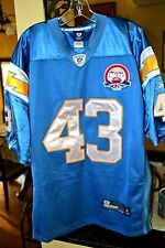 Darren Sproles San Diego Chargers 50th Anniversary Reebok On Field Jersey sz 50