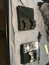Microsoft Xbox One Launch Edition 500GB Black Console and my PlayStation 4