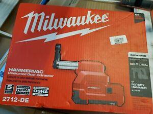 Milwaukee 18-Volt Cordless HammerVac HEPA Filter HammerVac Dust Extractor NEW
