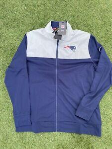 Men's Nike New England Patriots NFL Coaches Sideline Jacket Size L NEW