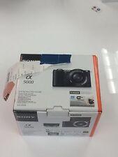 Sony Alpha a5000 20.1MP Digital SLR Camera - Black (Kit w/ E PZ OSS 16-50mm...