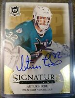 Arturs Irbe 2018-19 Upper Deck The Cup Signature Renditions On-Card Auto #SR-AI