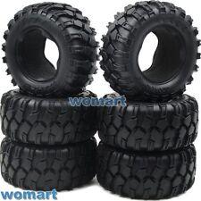 6pcs RC 1/10 90mm Tires W/ Foam For RC4WD Axial Tamiya Rock Crawler Truck Parts