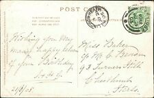 Miss Baker c/o Mrs Brown, 93 Turners Hill, Cheshunt 1905   QS.1110